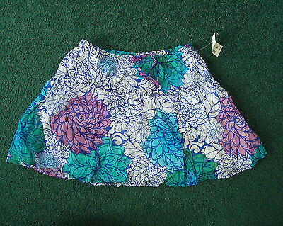 NWT Girl's p.s. from Aeropostale Floral Print Lined Skirt - Size 12