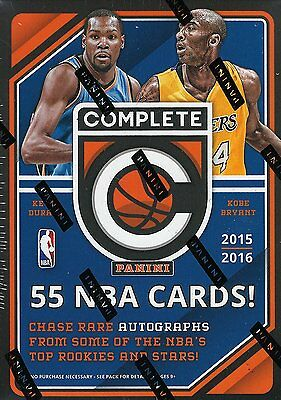 2015-16 Panini Complete Basketball 11-Pack Box