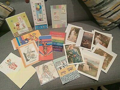 Mixed Lot Of Brand New Greeting Cards  - Birthday, Thank You Or Other