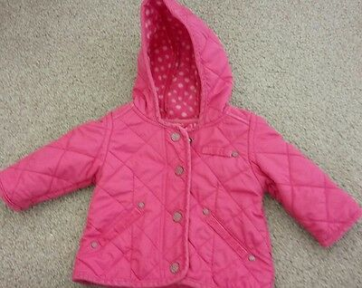 Baby girls NEXT coat age 3-6 months
