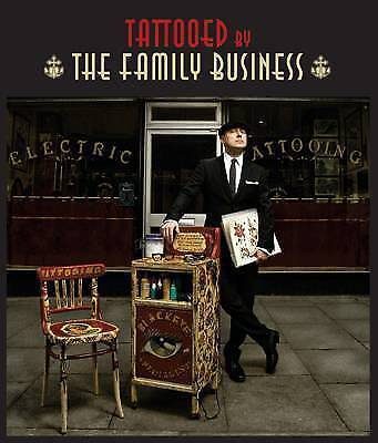 Tattooed by the Family Business, Mo Coppoletta Hardback Book The Cheap Fast Free
