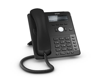 Snom D715 Entry Level SIP Voice over IP Corded Phone - Ethernet with PoE