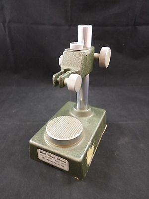 Mitutoyo Dial Gage Stand DGS-E with 2 1/4 in Serrated Anvil 7003