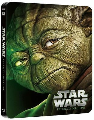 20th Century fox Blu-ray Star Wars - Episodio ii - L'attacco dei Cloni (ltd Stee