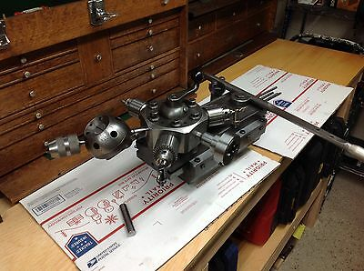 South Bend lathe 10 L heavy 10 turret tailstock with accessories