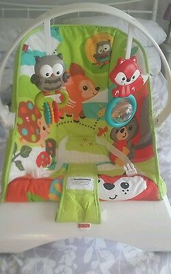 Fisher price bouncer baby chair vibrating
