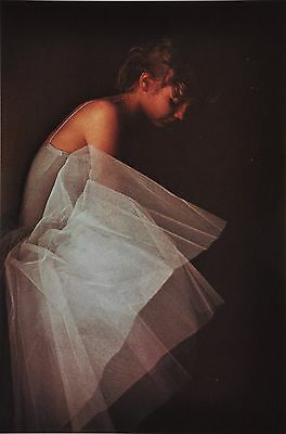David Hamilton Ltd. Ed Photo Print 29x40 Ballerina Ballet Dancer Signed in Print