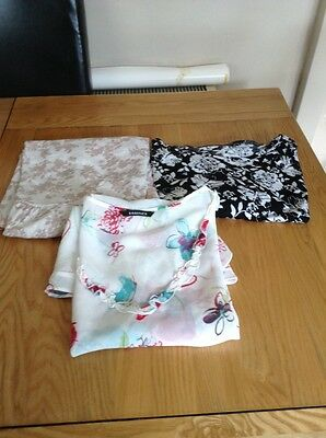3 tops essence size  16 Tu top & georgetop all size 16