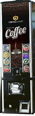 Three Coffee Smart black kcup vending machines