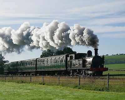 Steam Train 8 x 10 / 8x10 GLOSSY Photo Picture IMAGE #15