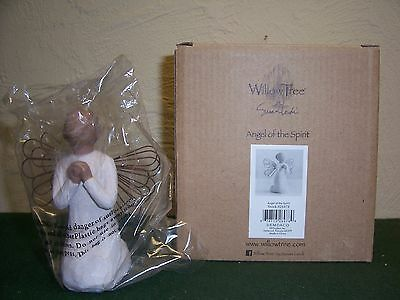 """WILLOW TREE (Angel of the Spirit) W/Box & Certificate 4 1/4"""" Tall"""
