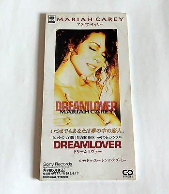 MARIAH CAREY Dreamlover Do You Think Of Me JAPAN 3inch CD Single 1993 SRDS-8264