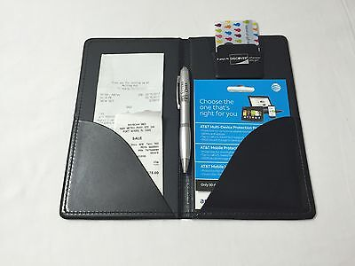 Waiter Waitress Server Book, Double Panel Check Presenter, Perfect Fit For Apron