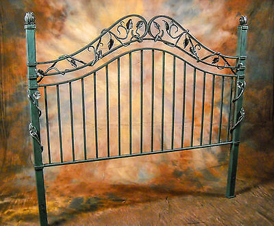 Custom-made Designer Bed - Hand-forged Wrought Iron - Heirloom Quality (Queen)