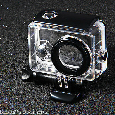 40M Water-proof Cover Case for Xiaomi Yi Action Camera with Optical Film Surface