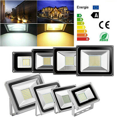 10W 20W 30W 50W 100W LED Flood Light Cool/Warm White SMD Spot Lamp Outdoor IP65