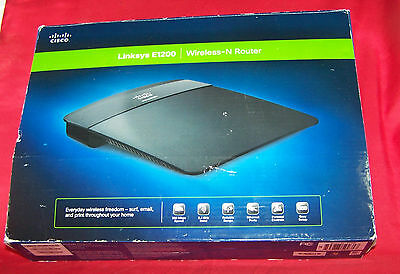 LINKSYS E1200 BROADBAND Router 300Mbps 2 4GHz Wireless N300