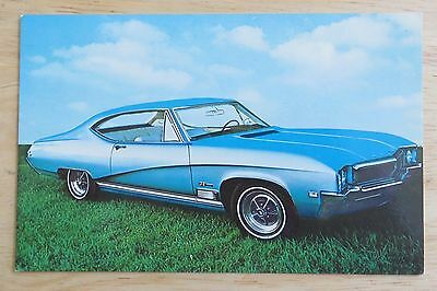 1968 Buick GS-400 Sport Coupe Advertising Chrome Postcard