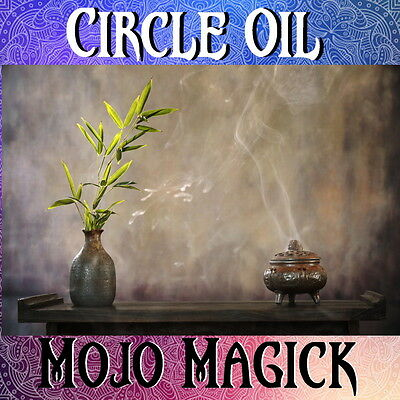Mojo Magick Circle Essential Oil Hoodoo Wicca - Create Sacred Spaces
