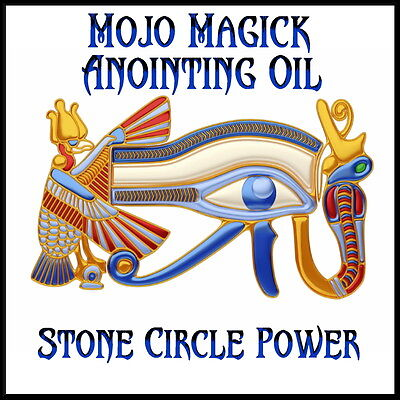 Mojo Magick Stone Circle Power Essential Oil - Hoodoo Wicca Spell Magick