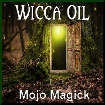 Mojo Magick Wicca Essential Oil Hoodoo - Use In Ceremonies & Workings To Connect