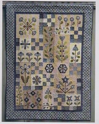 Flowerdale - pretty pieced & applique quilt PATTERN - Gail Pan Designs