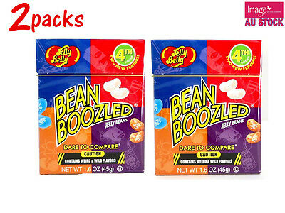 2x 4th Edition Jelly Bean Boozled Jelly Belly Fun Challenge Game