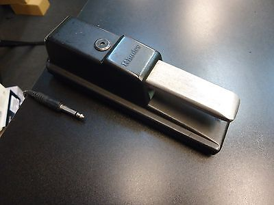 Roland Rhodes Dp-8 Sustain/damper Foot Pedal For Keyboard/electric Piano Black