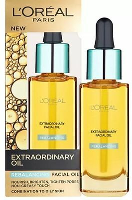 L'Oreal Extraordinary Rebalancing Facial Oil for Combination to Oily Skin 30ml