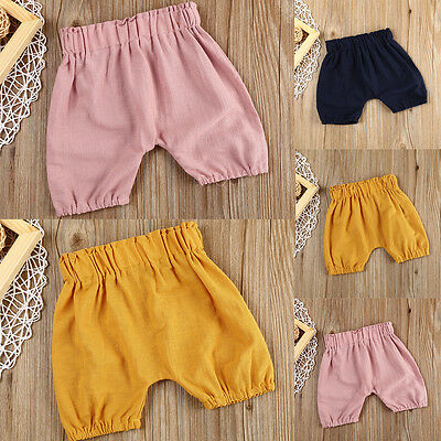 Toddler Baby Boy Infant Kid Cartoon Cotton Bottom Pants Trouser Shorts Sweatpant
