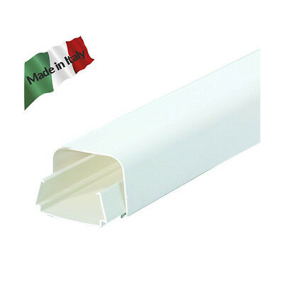 Canalina clima  EURO PLUS 65X50 mm 2 metri vecamco Made in Italy