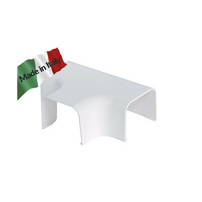 """Canalina clima curva A """"T""""  90X65mm vecamco Made in Italy"""