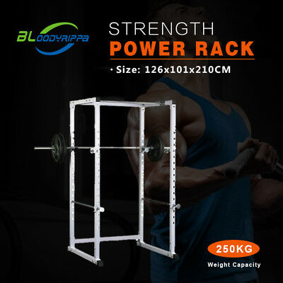 Hot sale Strength Power Rack Squat Cage Crossfit Stands Pull Up Home Gym Rack