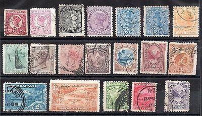 New Zealand QV unchecked useful collection (19V) WS4173