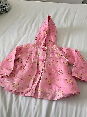 Baby Girls Spring Coat 9-12 Months