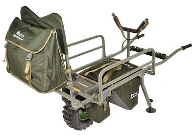 Prestige Carp Porter NEW Model MK2 Fatboy Deluxe All Terrain Barrow + COVER!
