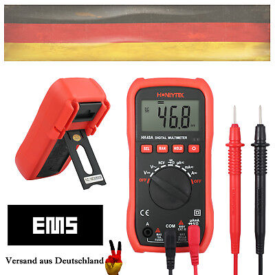 LCD Digital Multimeter Auto-Range AC DC NCV Tester A+V OHM Widerstand Messgerät