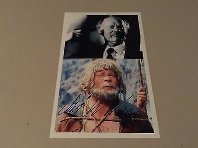 RALF WOLTER WINNETOU signed signiert Photo 10x15 Autogramm