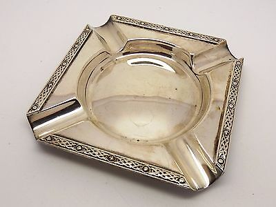 Vintage sterling silver ash tray - 1963