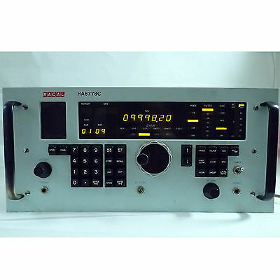 Racal Ra6778C Hf Radio Receiver Tested Working 15 Khz - 30 Mhz, Cw Am Lsb Usb