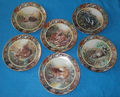 Davenport Collectors Plates Our Country Companions By Norma Carter Choose Plate