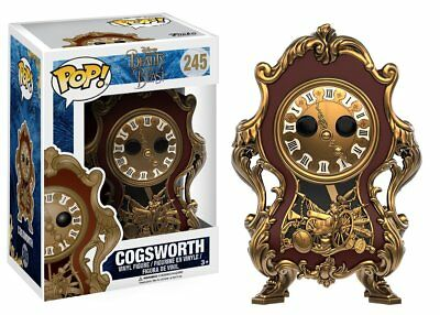 Funko Pop Disney - Beauty & The Beast: Cogsworth Vinyl Collectible Action Figure