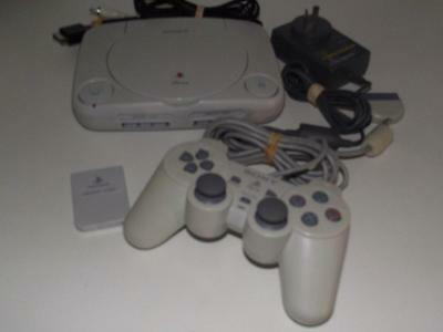 Playstation 1 PS1 PSone Console + Dual Shock Controller PAL Preloved