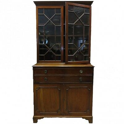 Georgian Secretaire bookcase     Ref c1100