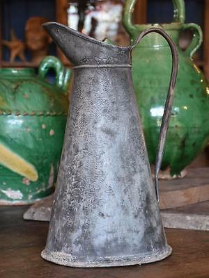 Rustic French watering can – 1920's antique French watering can