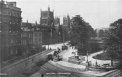 POSTCARD   BRISTOL   The  Cathedral    RP