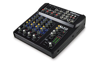 Alto Professional Zephyr Series ZMX862 6-Channel 2-Bus Compact Mixer
