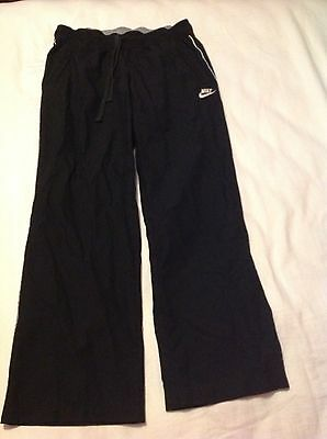 Nike Women Black Medium 8-10 Athletic Pants