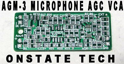 SSM2167 2166 Sensitive Microphone Audio AGC ALC PCB,DIY low noise sound amp CCTV