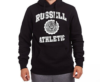 Russell Athletic Men's Core Arch Hoodie - Black